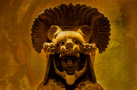 Monte Alban mask