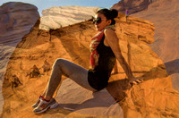 Chinese model, Delicate Arch