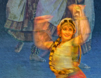 Indian classical dancing #2