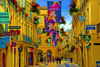 Old Town, Montpellier, France